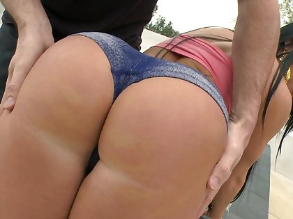 Detect riding Latina MILF wants sperm on that booty