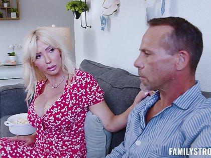Old alms-man fucks his wife's laddie