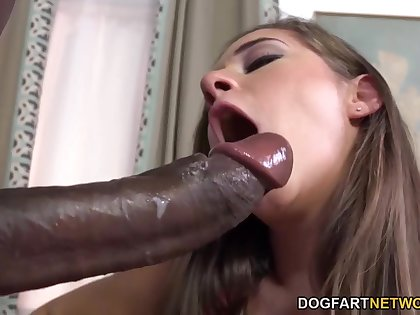 Cassidy Klein Pleases A Big Black Flannel With The brush Limbs