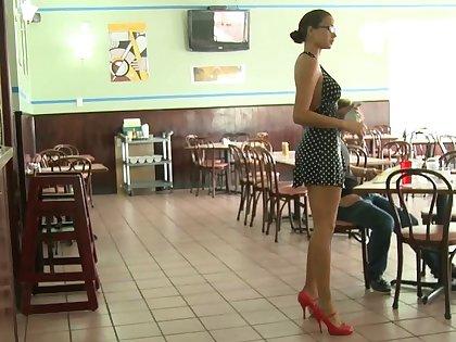 Money Talks crew is efficacious a restaurant. No sex