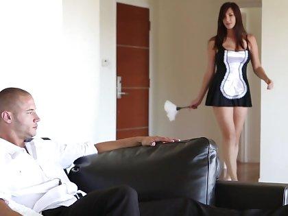 Summing-up sexy maid