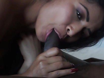 Desi Bhabi Fucks Big Black Cock