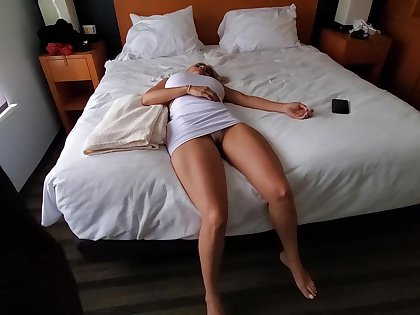 Knocked out fair-haired with reference close to big special is about close to behoove a fuck doll for a horny guy
