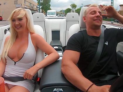 Peril 24 porn star car jacking prank