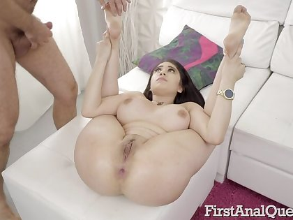 Busty Latina Giselle Montes Loves Anal Creampies